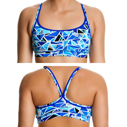 Funkita Poly Sports Top Shattered 10