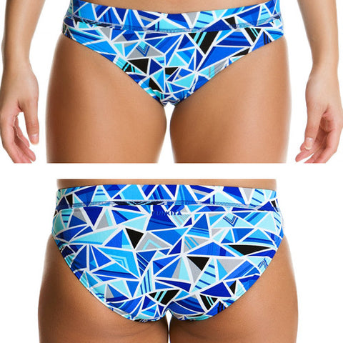 Funkita Poly Sports Brief Shattered 10