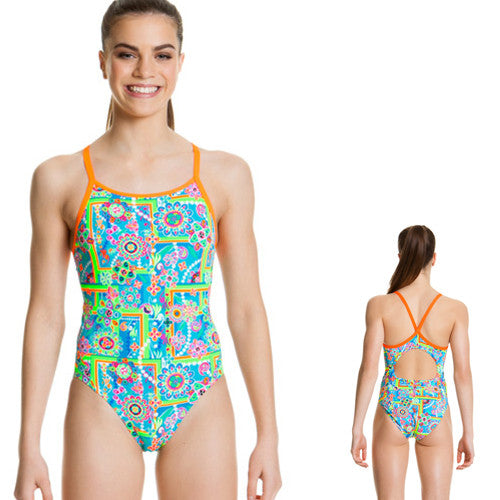 Funkita Girls Poly Diamondbk Russian Love 08
