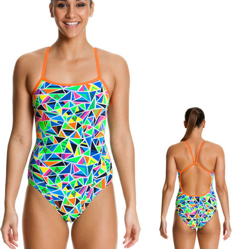 Funkita Poly Single Strap Crazy Cracks 10