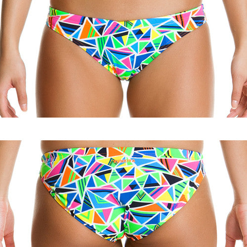 Funkita Poly Bibi Banded Brief Crazy Cracks 12