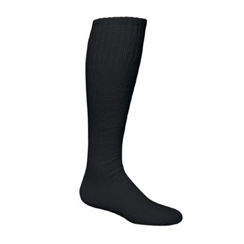 Sportime Game Day Baseball Sock Black L