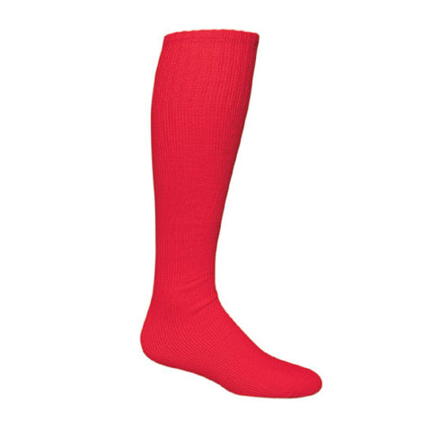 Sportime Game Day Baseball Sock Scarlet S