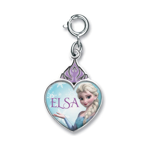 Charm It! Frozen Elsa Crown Heart Charm