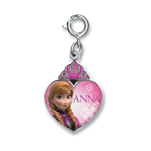Charm It! Frozen Anna Crown Heart Charm