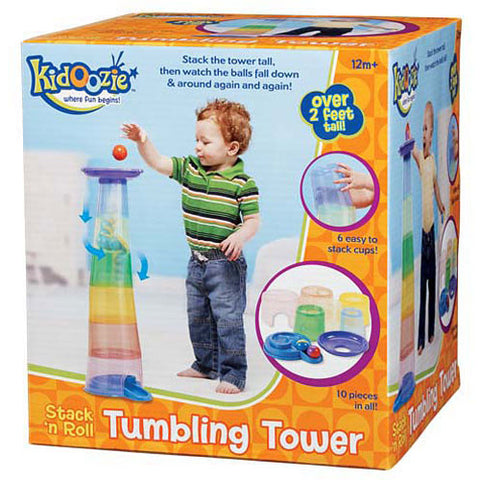 Kidoozie Stack N Roll Tumbling Tower