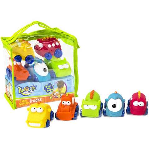 Kidoozie Mini Monster Trucks