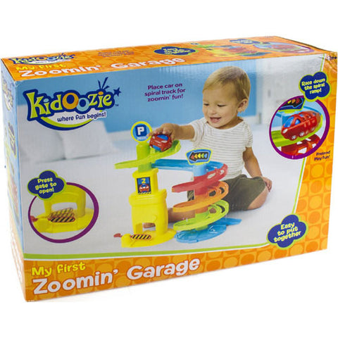 Kidoozie My First Zoomin Garage