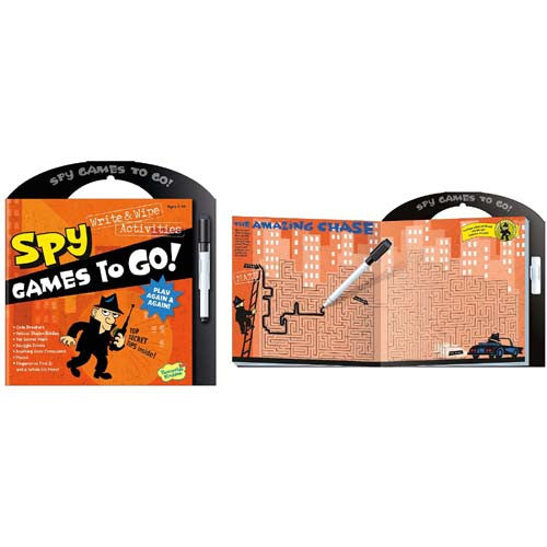 Peaceable Games to Go Spy Game