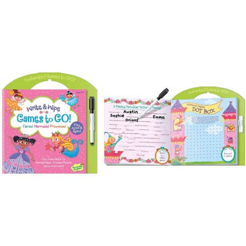 Peaceable Games to Go Fairies, Mermaids