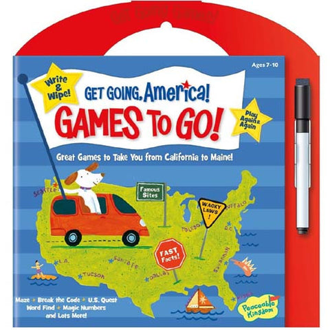 Peaceable Games to Go America