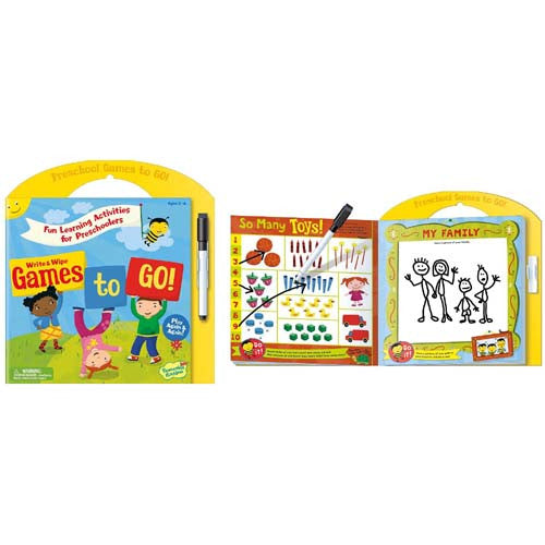 Peaceable Games to Go Preschool