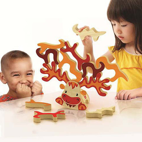Hape Super Moose Stacking Game