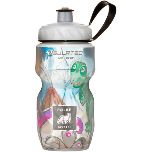 Polar Bottle 12oz Graphic Dino Might