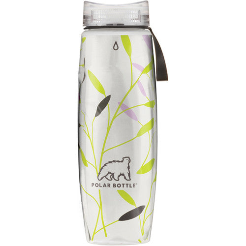 Polar Bottles Ergo Printed Graphic Leaves