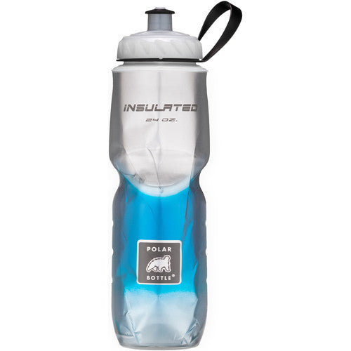 Polar 24oz Insulated Water Bottle Fade Blue