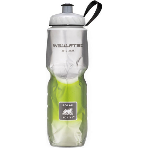 Polar 24oz Insulated Water Bottle Fade Green