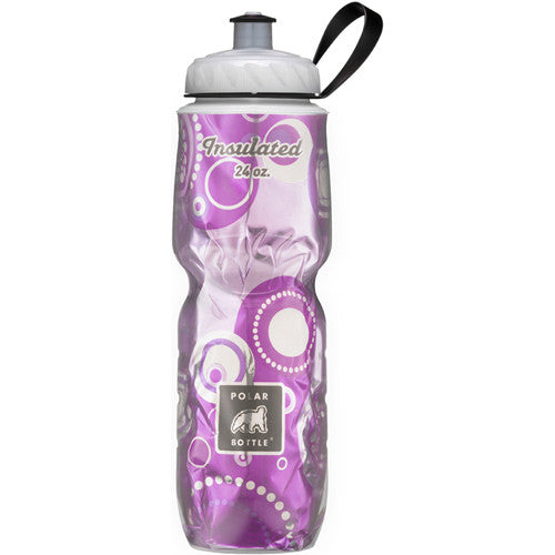 Polar 24oz Insulated Water Bottle Graphic Andromeda