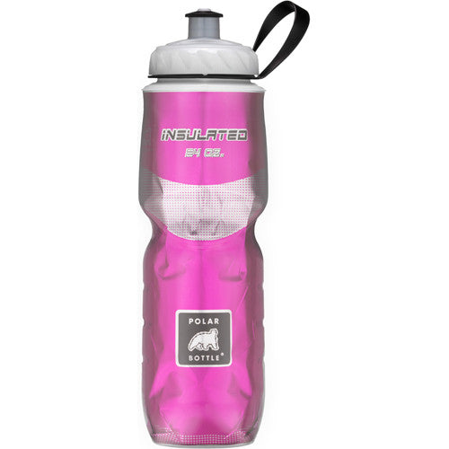 Polar 24oz Insulated Water Bottle Pink