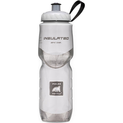 Polar 24oz Insulated Water Bottle White