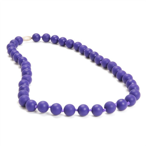 Chewbeads Necklace Teether Necklace| Classic Purple