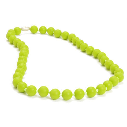 Chewbeads Necklace Teether Necklace| Chartreuse