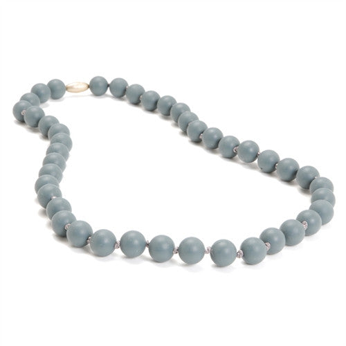 Chewbeads Necklace Teether Necklace| Stormy Grey