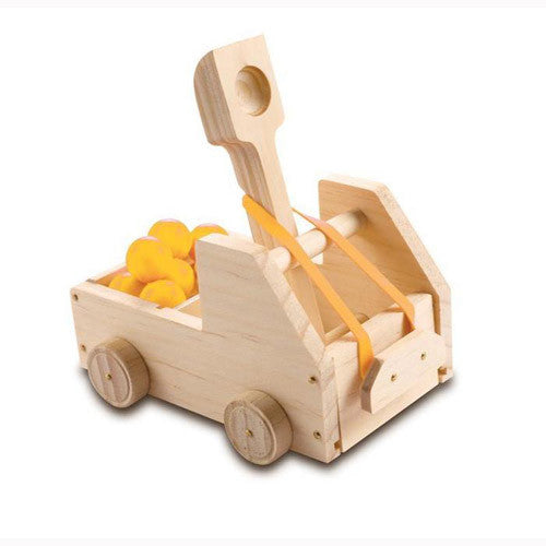 Red ToolBox Truck Catapult
