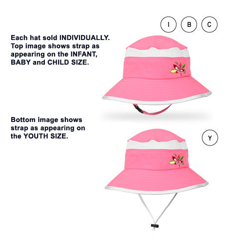 Sunday Afternoons Bucket Hat Pink Youth 5-9 Years