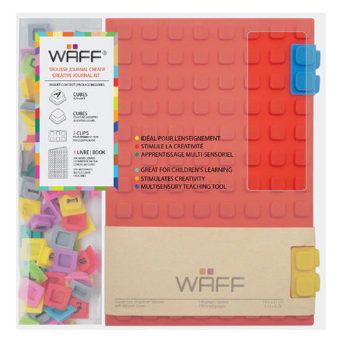 Waff Silicone Journal Large Red