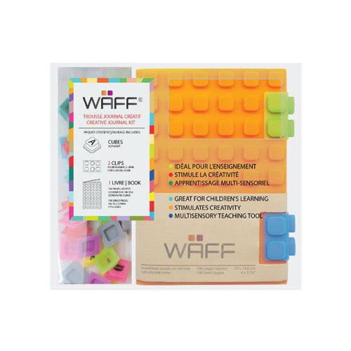 Waff Silicone Journal Orange