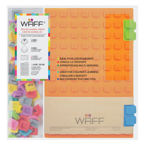 Waff Silicone Journal Large Orange