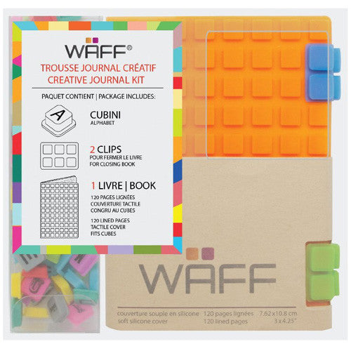 Waff Silicone Journal Orange Mini
