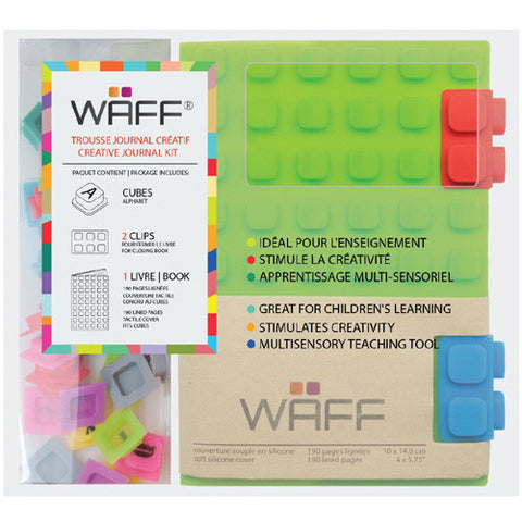 Waff Silicone Journal Green Mini