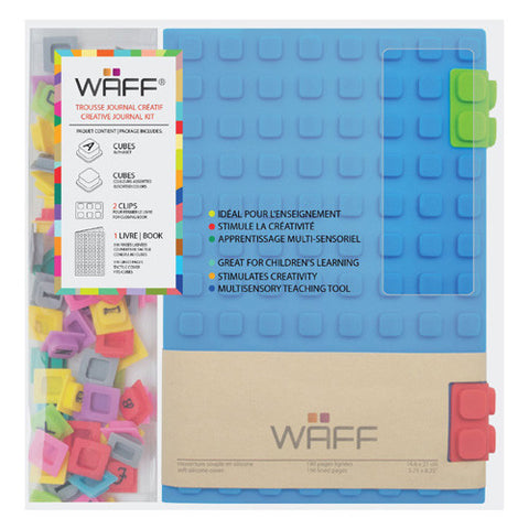 Waff Silicone Journal Large Blue