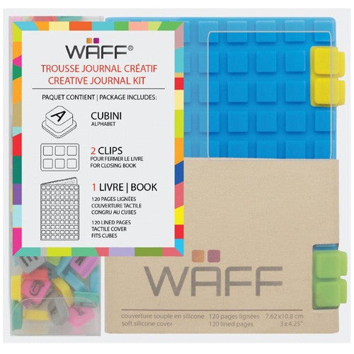 Waff Silicone Journal Blue Mini