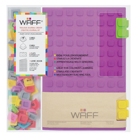 Waff Silicone Journal Large Purple