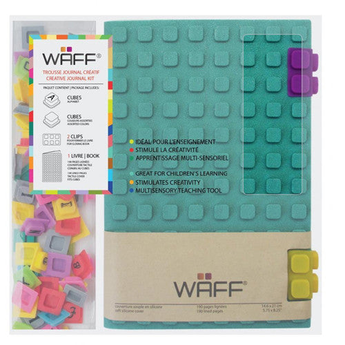 Waff Silicone Journal Large Malachite Gl