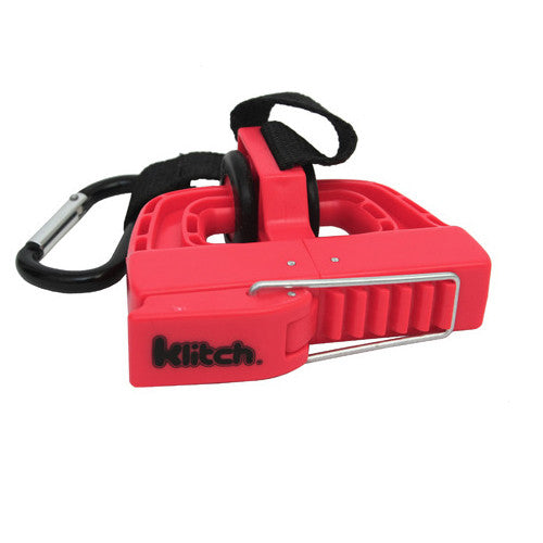 Klitch Footwear Clip Red