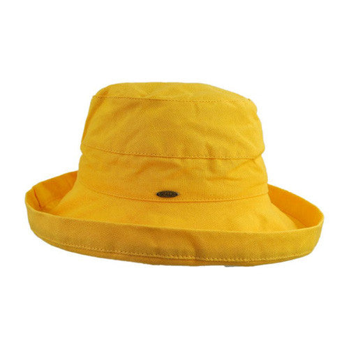 "Scala Cotton Hat 2.5""Brim Banana"