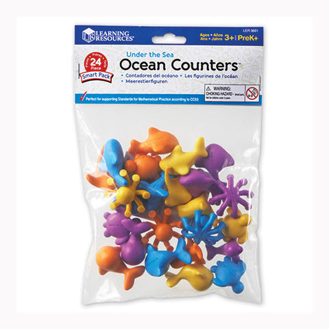 Learning Resources Sea Ocean Counters