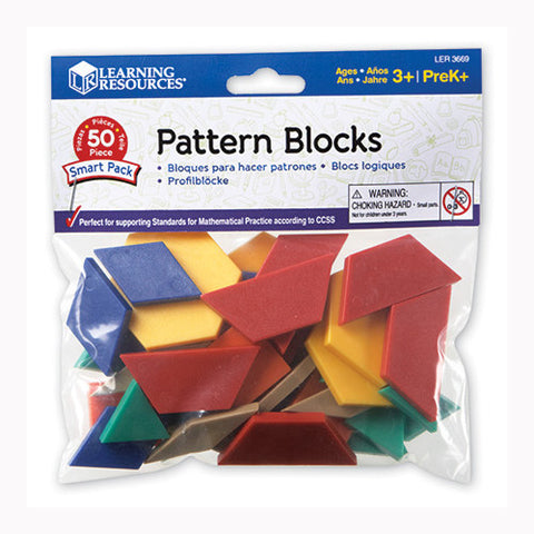 Learning Resources Pattern Blocks