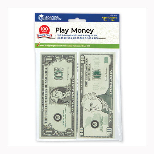 Learning Resources Play Money Smart Pack