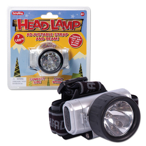 Schylling LED Head Lamp