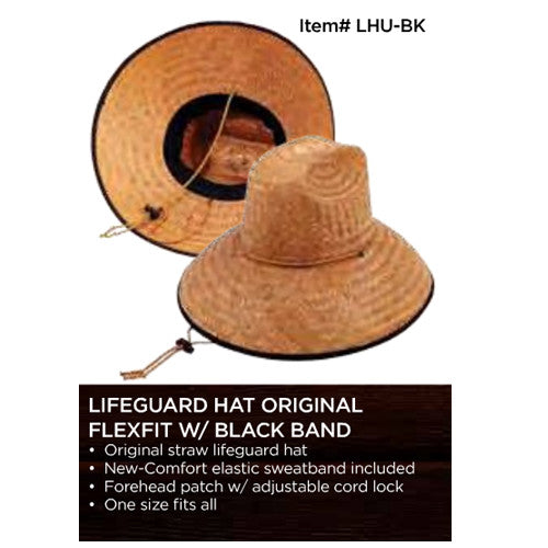 Wet Products Lifeguard Hat Black band