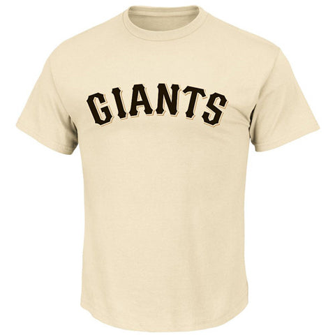 Bomark Majestic Tee Alt Giants Large