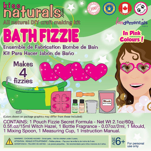Kiss Naturals Mini Bath Fizzie Kit