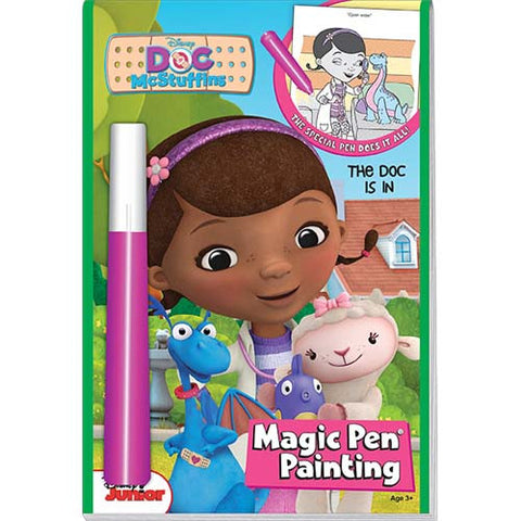 Lee Doc McStuffins Magic Ink Book
