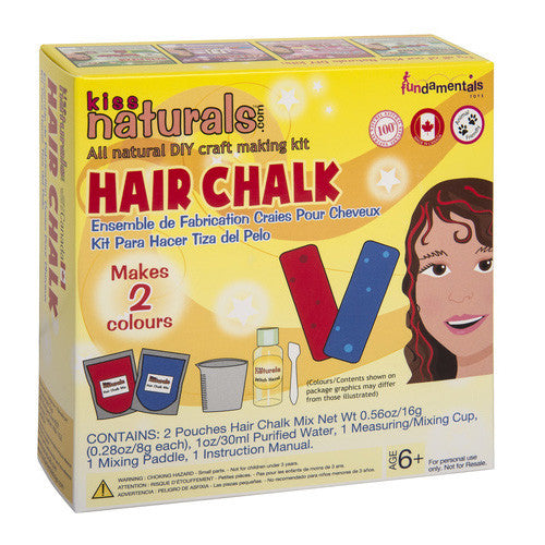 Kiss Naturals Mini Hair Chalk Kit
