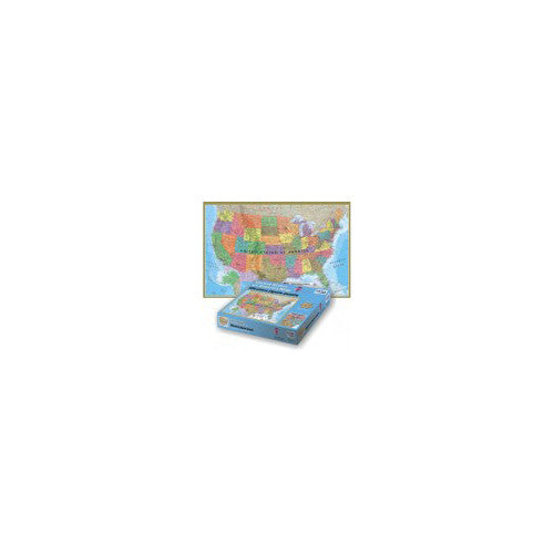 Round Solutions 500pc USA Puzzle
